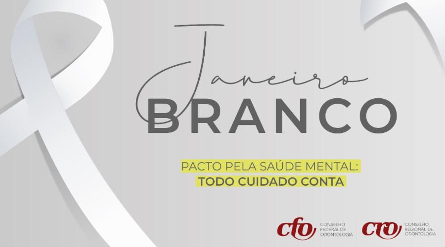 JANEIRO BRANCO: SISTEMA CONSELHOS ALERTA CATEGORIA SOBRE IMPORTÂNCIA DOS CUIDADOS COM A SAÚDE MENTAL