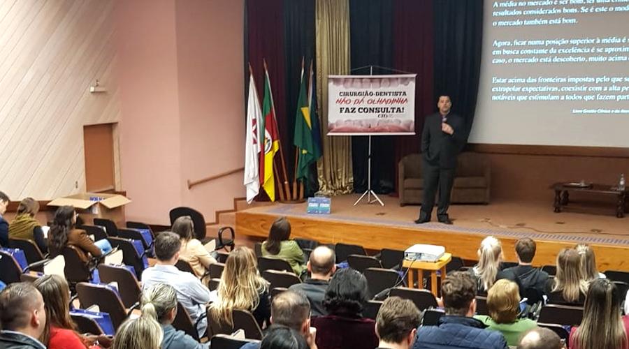 CD EMPREENDEDOR PASSO FUNDO ABORDA QUESTÕES RELEVANTES PARA A ODONTOLOGIA