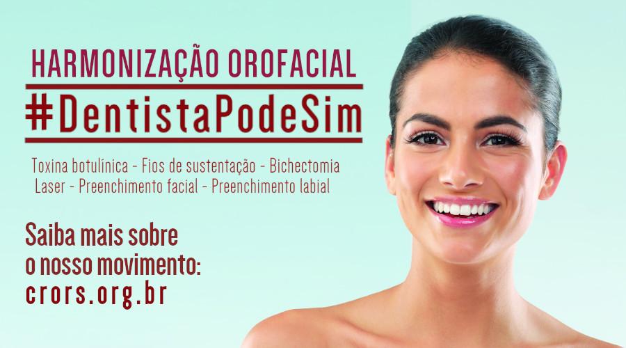 HARMONIZAÇÃO OROFACIAL: #DentistaPodeSim