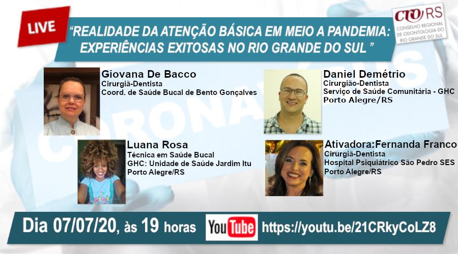 REALIDADE DA ATENÇÃO BÁSICA EM MEIO A PANDEMIA: EXPERIÊNCIAS EXITOSAS NO RIO GRANDE DO SUL