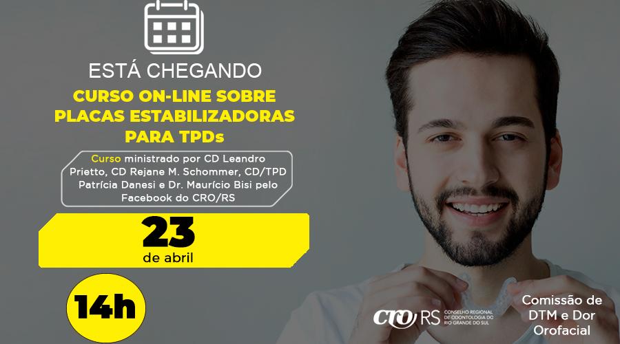 COMISSÃO DO CRO/RS PROMOVE CURSO SOBRE PLACAS ESTABILIZADORAS PARA TPDs